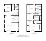 Floorplan of Wykeham Close, Steyning, West Sussex, BN44 3GR